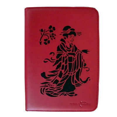 Artisan MaxGuard Plus Kindle 2 Cover, Red, Kimono