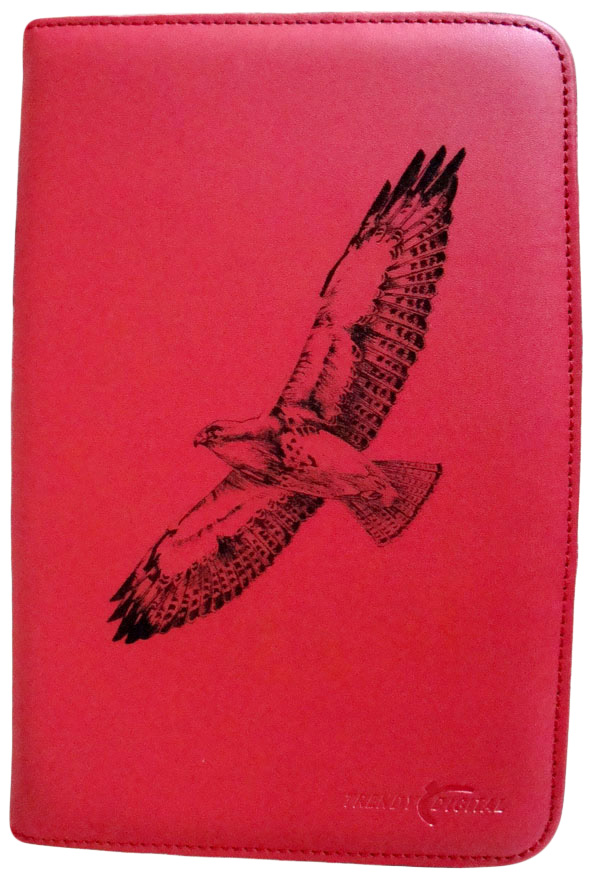 Artisan MaxGuard Plus Kindle 2 Cover, Red, Hawk