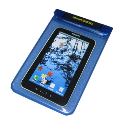 Splash Proof Case for Samsung Galaxy Tab w/Padding, Blue