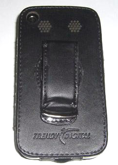 Leather Case with Belt Clip for I9 or I68 Phone