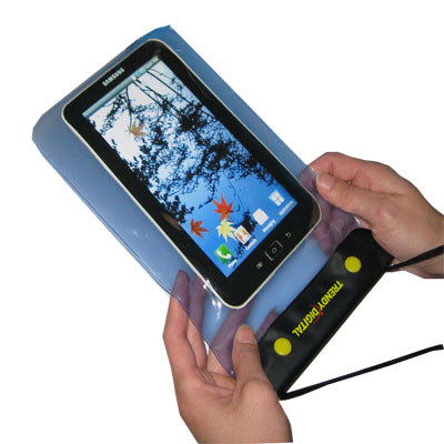 WaterGuard Waterproof Case for Samsung Galaxy Tab , Blue
