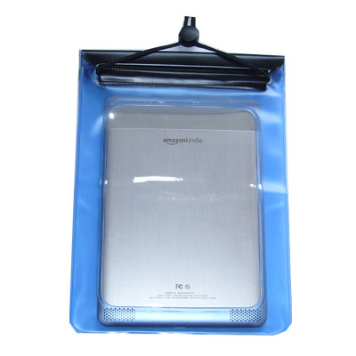 WaterGuard Waterproof Case for Kindle 2, Blue Border