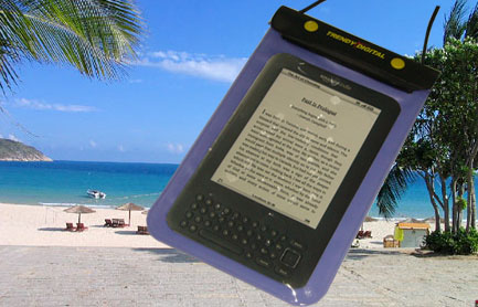 WaterGuard Waterproof Case for Kindle 3 , Purple