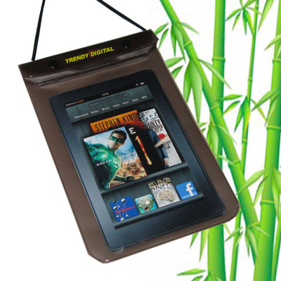 WaterGuard Waterproof Case for Kindle Fire, Black - Click Image to Close