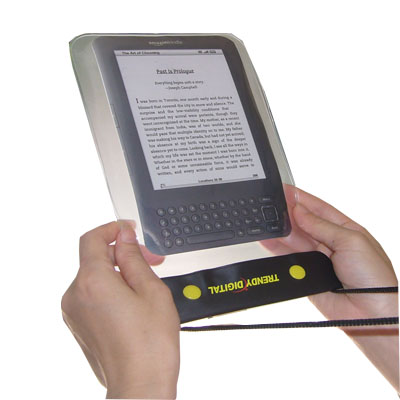 WaterGuard Waterproof Case for Kindle 3 , White