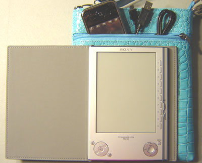InStyle eReader Travel Bag for Sony Reader, Blue Color
