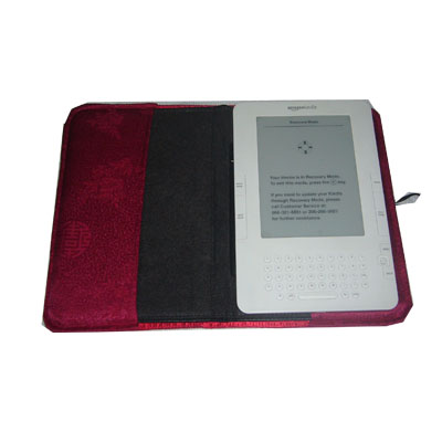 iBeauty Cover for Amazon Kindle 2 Leather Cover: Joyful Red