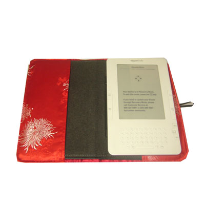 iBeauty Cover for Kindle 2 Leather Cover: Blooming Chrysanthemum