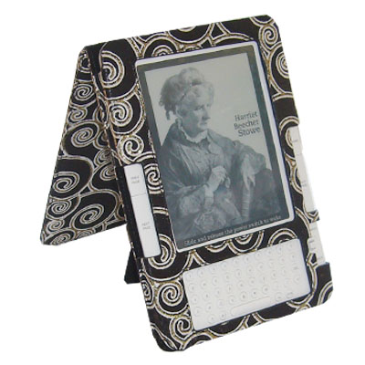 EasyRead Platform Jacket for Kindle 2, Laminated Fabric, Black
