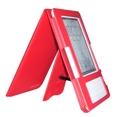 EasyRead Platform Jacket for Kindle 2, Red Color