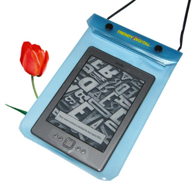 WaterGuard Waterproof Case for Kindle 4 ( 4thGeneration), Blue