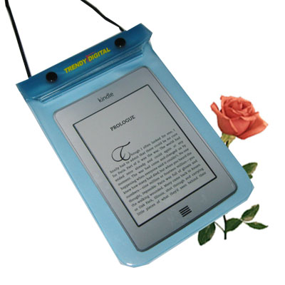 WaterGuard Waterproof Case for Kindle Touch, Blue