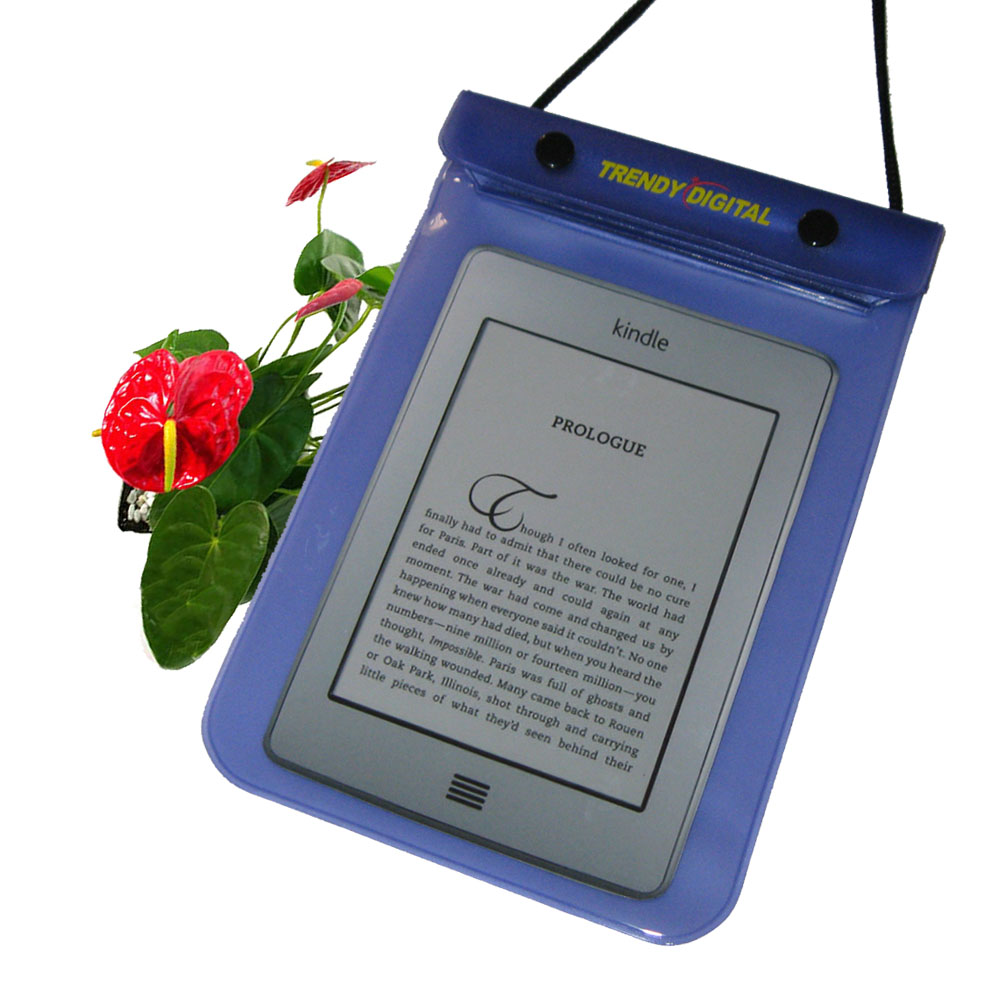 WaterGuard Waterproof Case for Kindle Touch, Purple