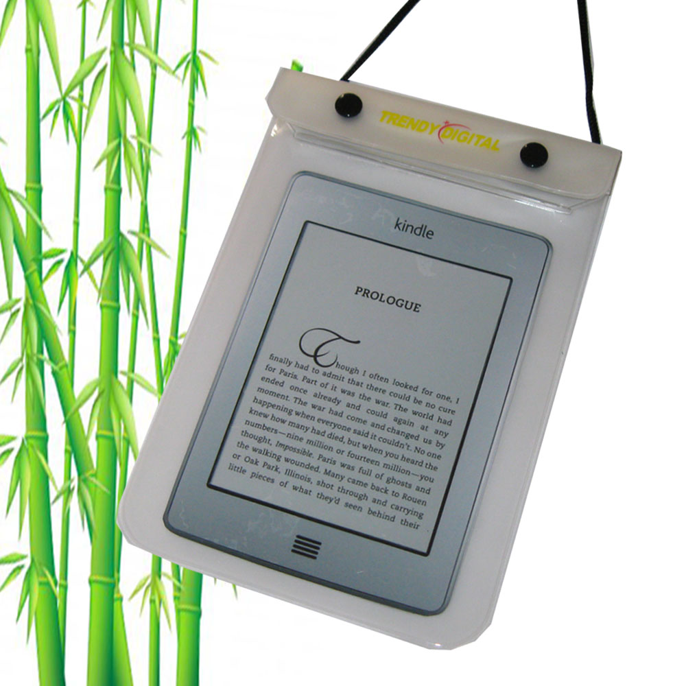 WaterGuard Waterproof Case for Kindle Touch, White