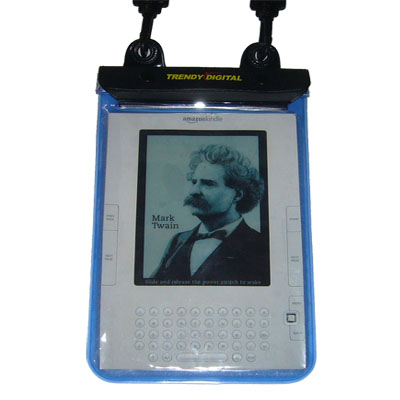 WaterGuard Plus Waterproof Case for Kindle 2, Blue