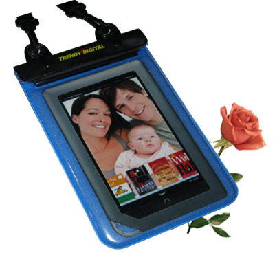 WaterGuard Plus Waterproof Case for the B&N NOOKcolor , Blue