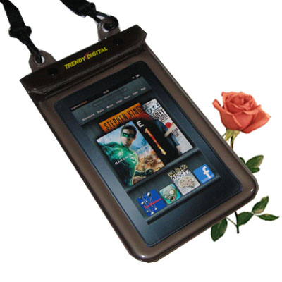 WaterGuard Plus Waterproof Case for Kindle Fire w/Padding, Black