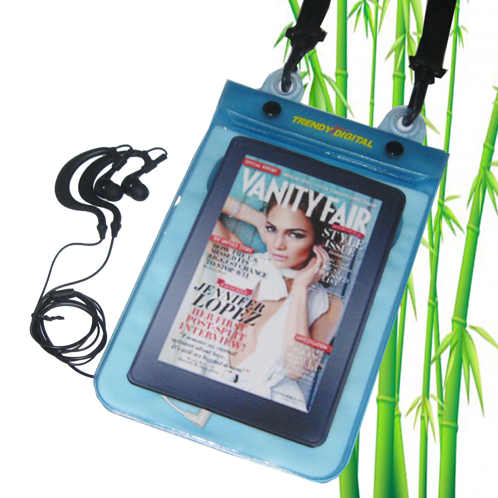 H2OProof Audio Waterproof Case for Kindle , Blue