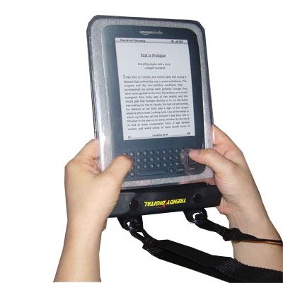 WaterGuard Plus Waterproof Case for Kindle 3 w/Padding, White
