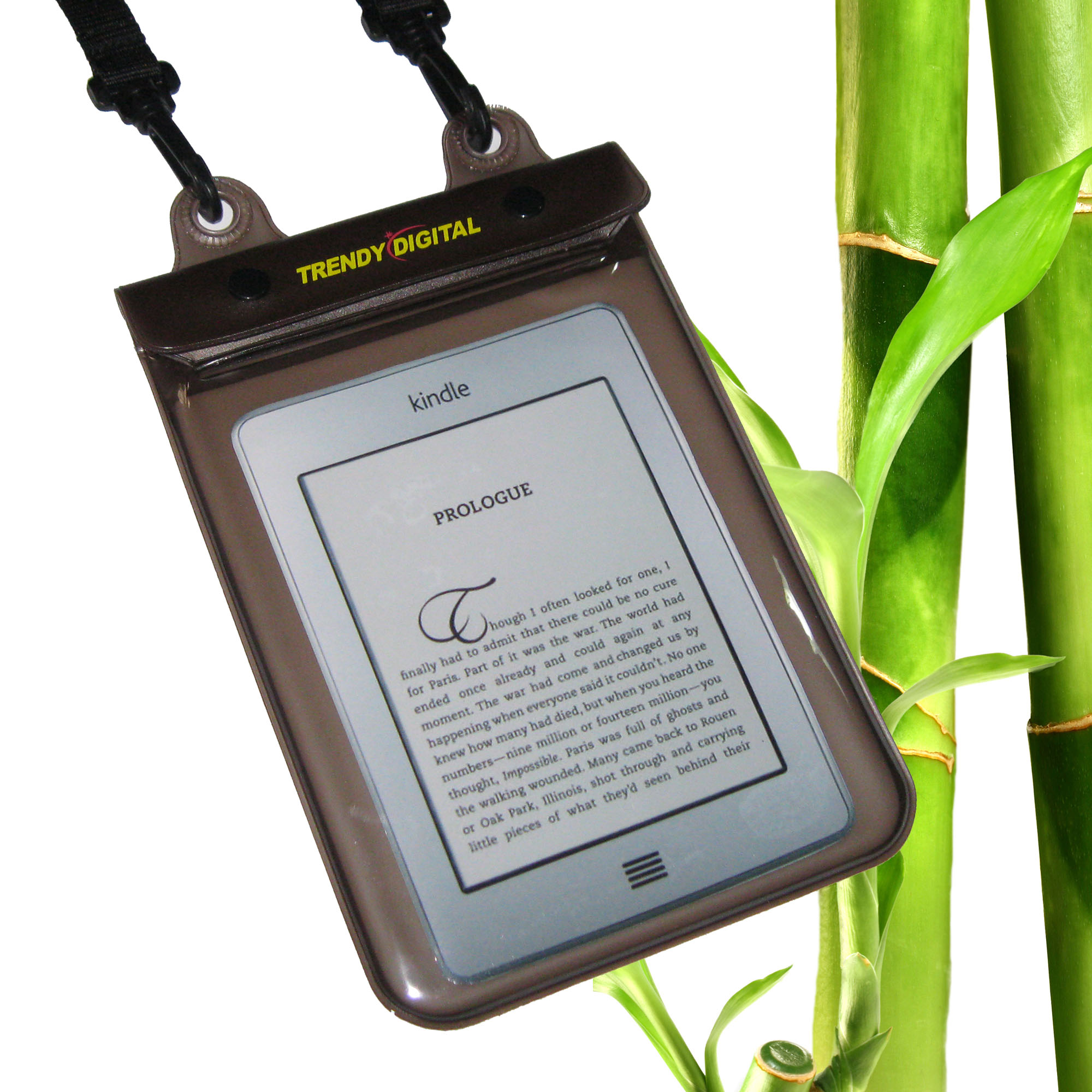 WaterGuard Plus Waterproof Case for Kindle Touch w/Padding,BlacK