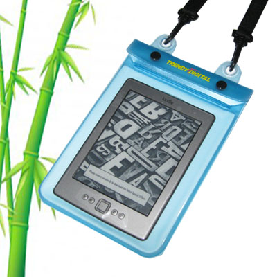 WaterGuard Plus Waterproof Case for Kindle 4 w/Padding, Blue