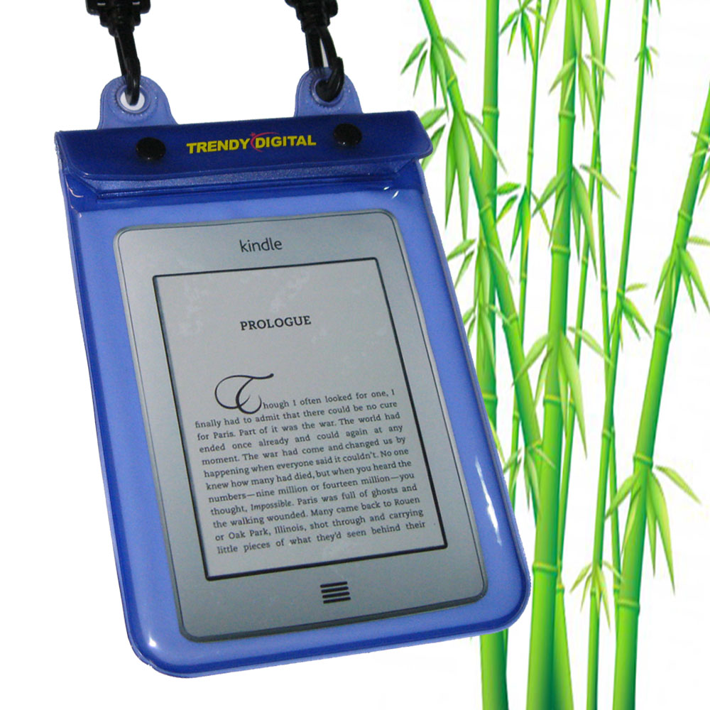 WaterGuard Plus Waterproof Case for Kindle Touch, Purple