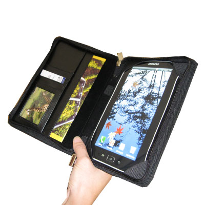 Courier Folio Cass for the Samsung Galaxy Tab, Black