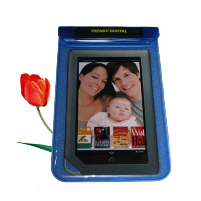 SplashGuard Splash Proof Case for NOOK Color w/Padding, Blue - Click Image to Close