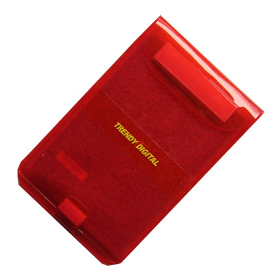 Splash Proof Case with Padding for Sony Reader PRS600SC, Red