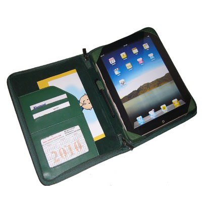 TrendyDigital PadGear Folio Cass for Apple iPad, Green