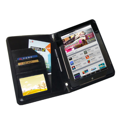 TrendyDigital PadGear Folio Cass for Apple iPad 2, Black
