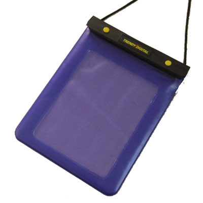 WaterGuard Plus Waterproof Case for iPad with Padding, Purple