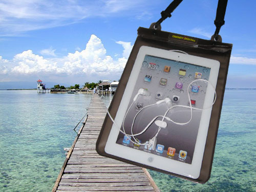 Premium WaterGuard PLus Waterproof Case for New iPad, Black