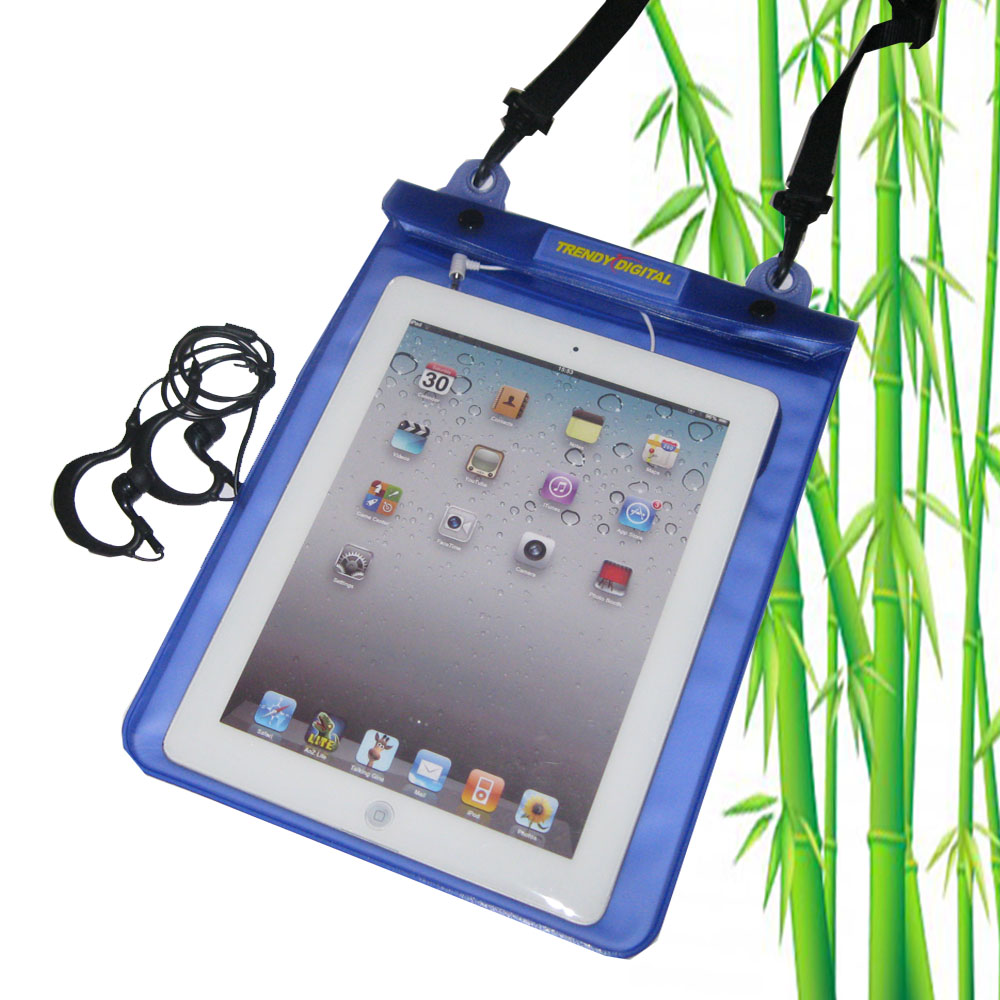 Premium WaterGuard PLus Waterproof Case for New iPad, Purple