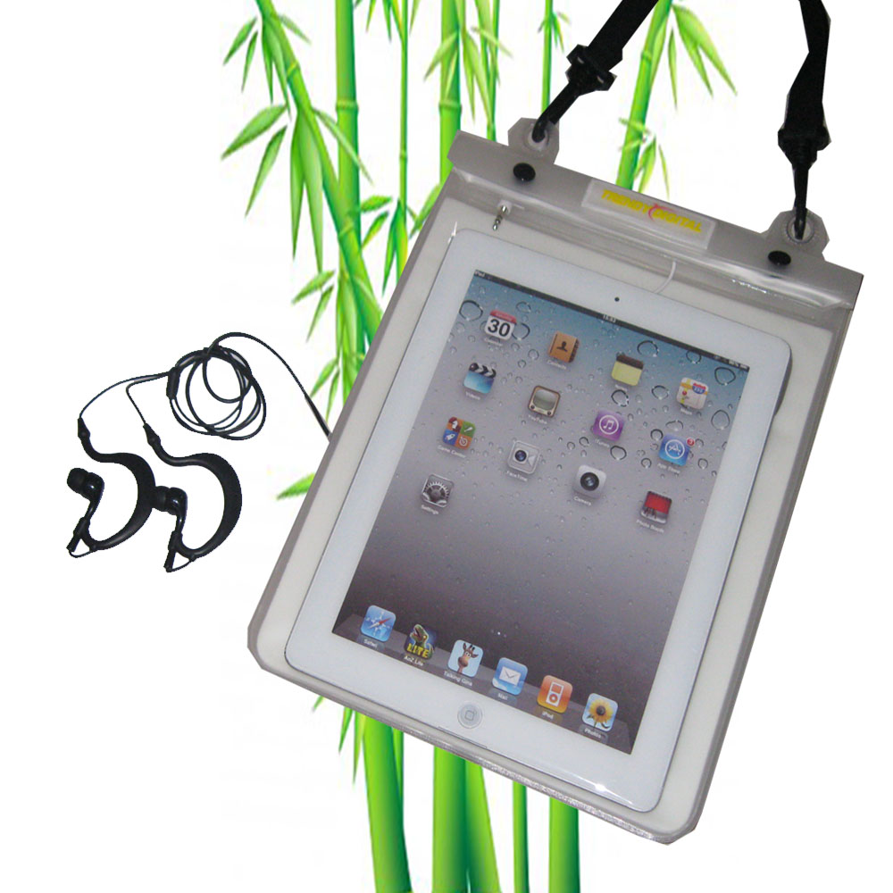 Premium WaterGuard PLus Waterproof Case for New iPad, White