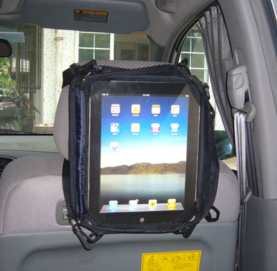 TrendyDigital PadRide In-Car Carry Case for iPad