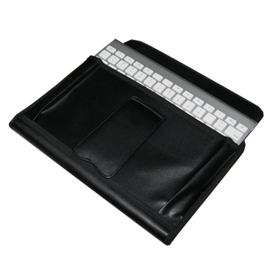 TrendyDigital PadGear Plus Folio Cass for Apple iPad 2, Black