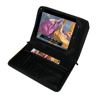 TrendyDigital PadGear Plus Folio Cass for Apple iPad, Black