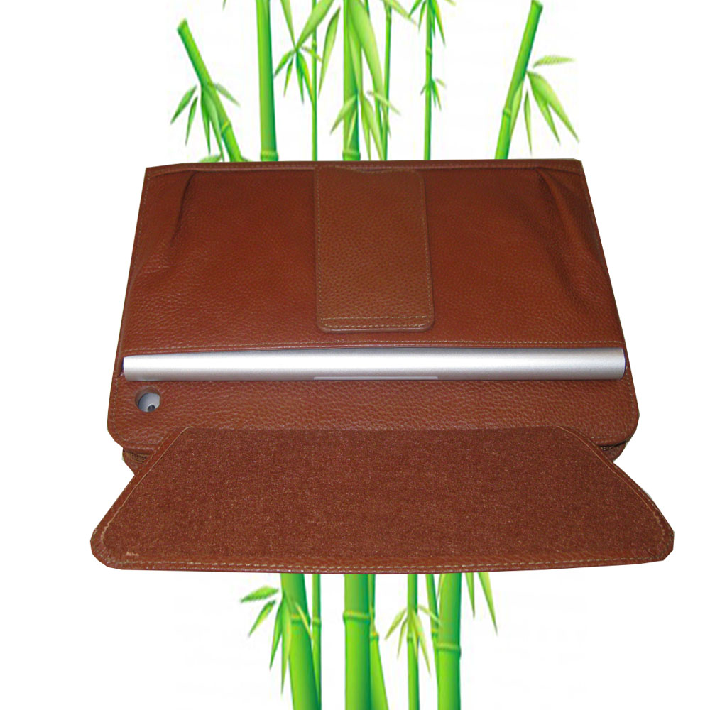 PadGear Plus Folio Leather Cass for Apple New iPad, Brown