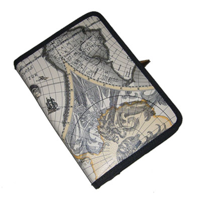 TrendyDigital Courier Folio Cass for Kindle 3, Map