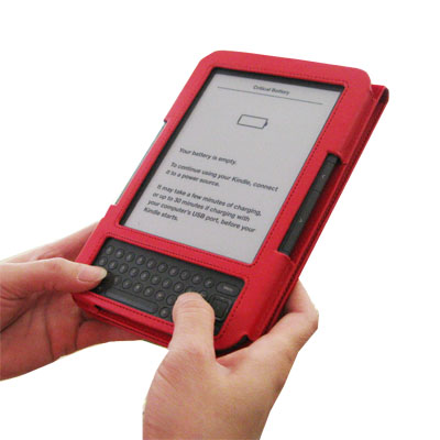 EasyRead Platform Jacket for Kindle 3, Red Color