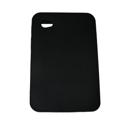 High Grade Silicone Case for the Samsung Galaxy Tab, Black