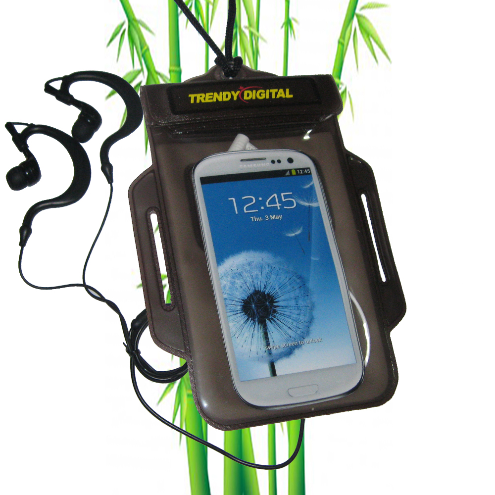 TrendyDigital H2OProof Audio Case for Galaxy S III, Black