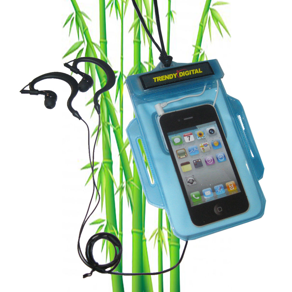 H2OProof Audio Case for iPhone 4 and iPhone 4S, Blue