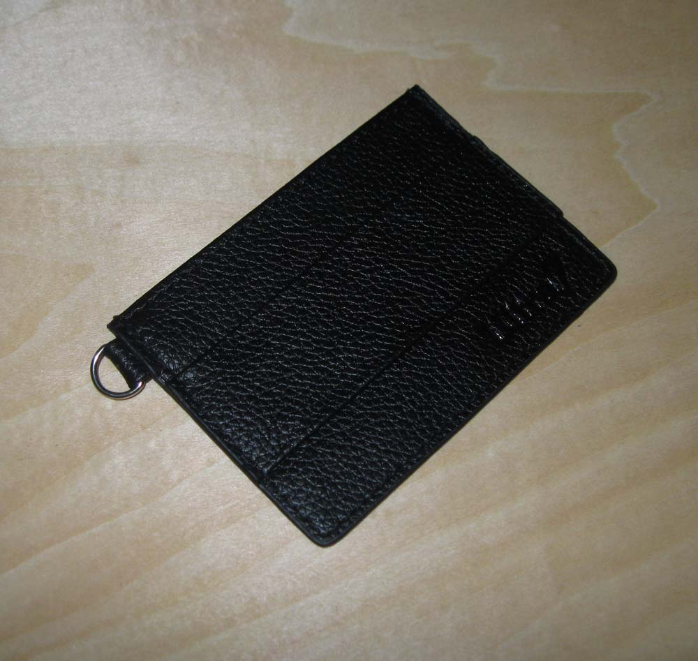 SIMPLICITY Genuine Leather Wallet by ULTRA7 ((With Mesh Window)