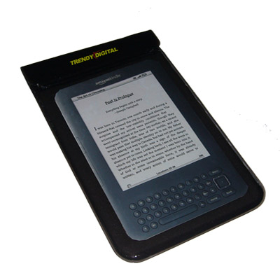 SplashGuard Splash Proof Case for Kindle 3 w/Padding, Black
