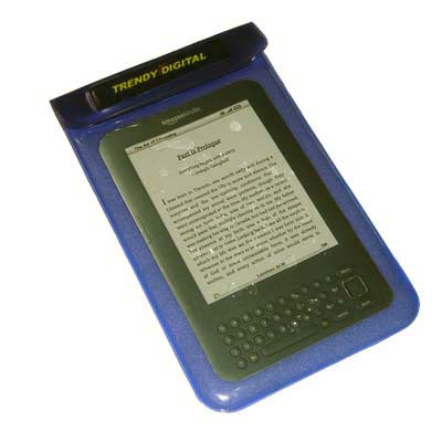SplashGuard Splash Proof Case for Kindle 3 w/Padding, Blue