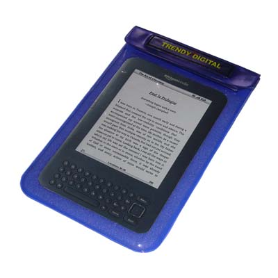 SplashGuard Splash Proof Case for Kindle 3 w/Padding, Purple